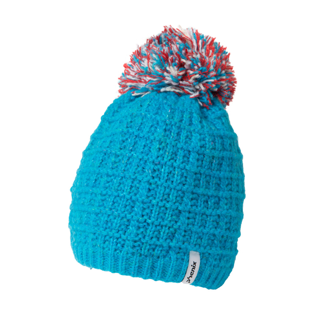 Phenix Groovy Knit Hat with Pon-Pon