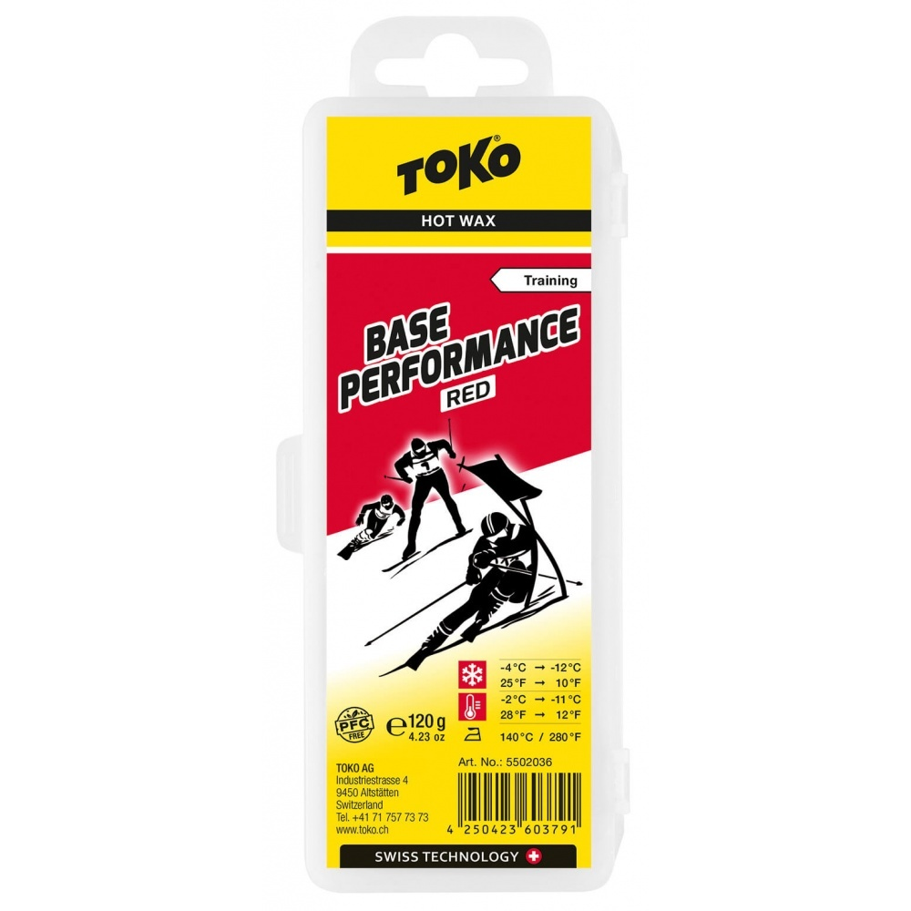 Toko Base Performance Hot Wax red 120g